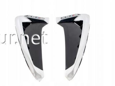 Фото Накладки на крылья (жабры) BMW X5 F15 (хром)
