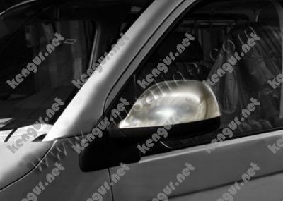 Фото Накладки на зеркала Volkswagen T6 (пласт.) 2 шт. #856610 6454811