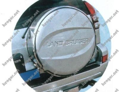 Фото Чехол запаски Toyota Land Cruiser 100 (хром)