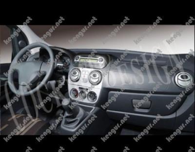 Фото Декоративные накладки на панель Fiat Fiorino 2008-...