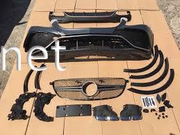 Фото Обвес Mercedes GLE W166, стиль AMG