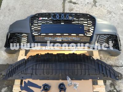 Фото Передний бампер Audi A6 стиль RS6 Quattro (2014-2016) 4G0807065APGRU