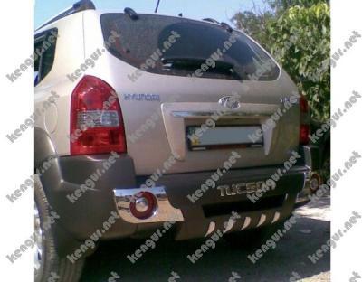 Фото Накладка заднего бампера Hyundai Tucson (пластик)