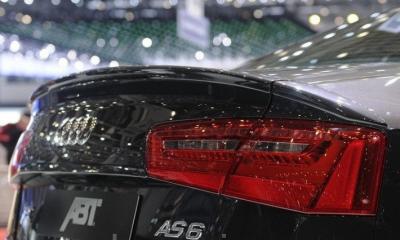 Фото Спойлер Audi A6 C7 стиль ABT