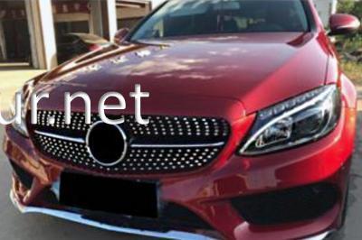 Фото Решетка радиатора Diamond Mercedes W205 2014-...