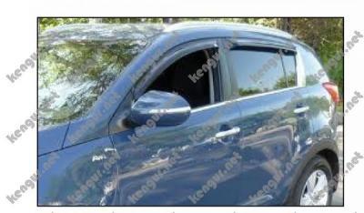 Фото Дефлекторы дверей, ветровики Kia Sportage #328151
