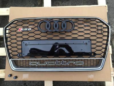 Фото Решетка радиатора на Audi A6 (2014-...) в стиле RS6 quattro