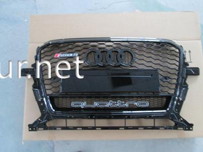 Фото Решетка радиатора Audi Q5 стиль RSQ5 Black (2012-2015) QUATTRO