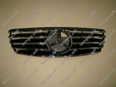 Фото Решетка радиатора Mercedes Benz E Class W211 (2003-2006)