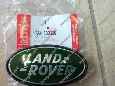 Фото Эмблема Land Rover в решетку (зеленая) LR001664