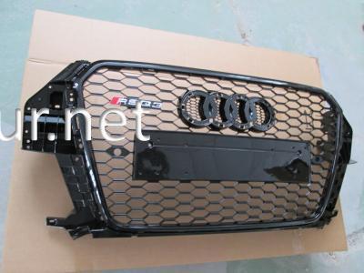 Фото Решетка радиатора Audi Q3 стиль RSQ3 Black (2011-2015)