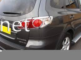 Фото Накладки на стопы Hyundai Santa Fe 2006-…