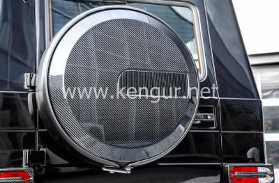 Фото Карбоновый чехол запасного колеса G-Class W463