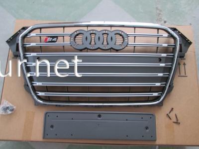 Фото Решетка радиатора Audi A4 стиль RS4 2012-2015 серая