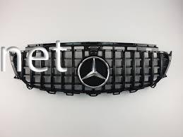 Фото Решетка радиатора GT (all black) Mercedes W213 2016-...