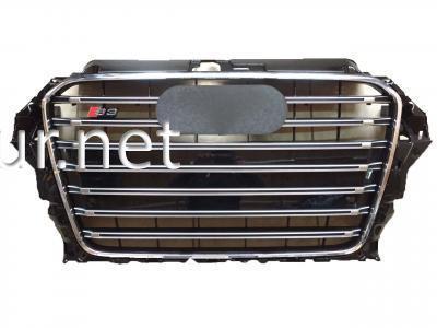 Фото Решетка радиатора Audi A3 стиль S3 2011- Black