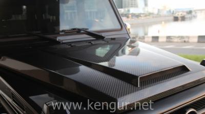 Фото Карбоновый капот стиль Mansory Mercedes-Benz G-Class W463