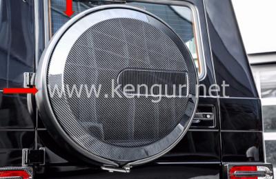 Фото Карбоновое запасное кольцо для шин Mercedes-Benz G-Class W463