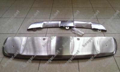 Фото Накладки переднего и заднего бампера Skid Plate BMW X6