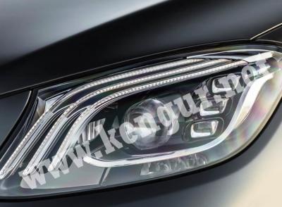 Фото Рестайлинговые фары на Mercedes S-klass W222