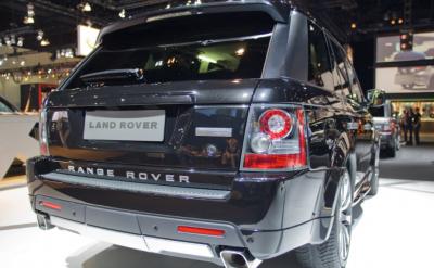 Фото Задний бампер Range Rover Sport Autobiography 2009-2013 LR000109(бензин), LR000108(дизель)