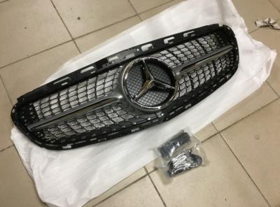 Фото Решетка радиатора Mercedes E-class W212 2013+ Diamond grill 21288005839775
