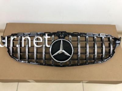 Фото Решетка радиатора GT (black/chromе) Mercedes W205 2014-...