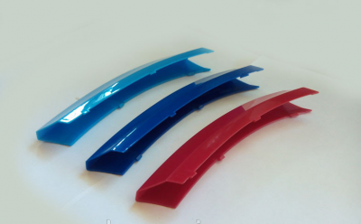 Фото Накладки на решетку радиатора M-style BMW X6 E71 2012-2014