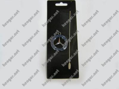 Фото Брелок на ключи  Mercedes Benz  (синий, на тросике)