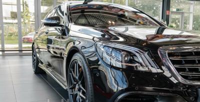 Фото S63 S65 AMG 2017 карбоновый обвес Mercedes Benz S class W222