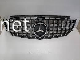 Фото Решетка радиатора GT (chrome/black) Mercedes W213 2016-...