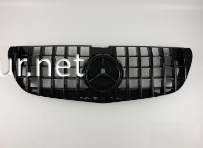 Фото Решетка радиатора GT (all black) Mercedes Vito W447 2016-...