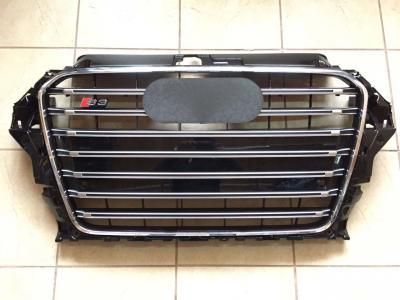 Фото Решетка радиатора Audi A3 в стиле S3 чёрная 8V3853651E