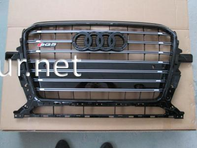 Фото Решетка радиатора Audi Q5 стиль SQ5 Black (2012-2015)