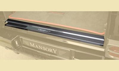 Фото Карбоновая накладка на порог багажника стиль Mansory Mercedes-Benz G-Class W463
