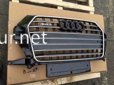 Фото Решетка радиатора Audi Q3 стиль SQ3 Black (2015-...)