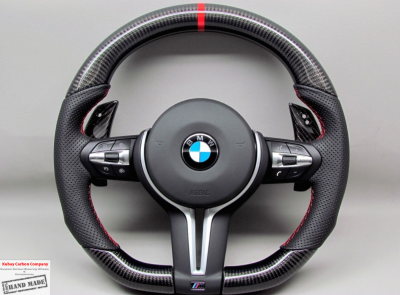 Фото Руль карбоновый на BMW M4