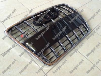 Фото Решетка радиатора Audi A6 стиль S6 2008-2012 Black 4F0853651AN