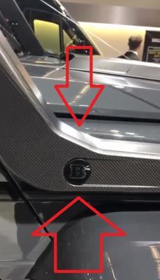 Фото Карбоновый шноркель Mercedes-Benz G-Class W463