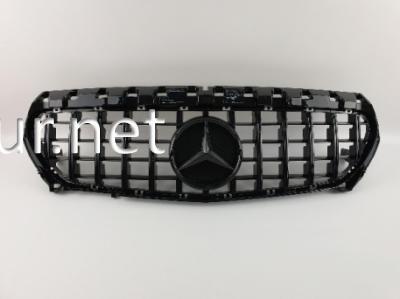 Фото Решетка радиатора GT (black) Mercedes CLA W117 2014-2016 / 2016-2018