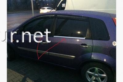 Фото Окантовка стекол (нижняя) Ford Fiesta 2002-2008