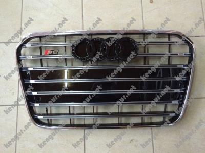 Фото Решетка радиатора на Audi A6 (2012-...) в стиле RS6