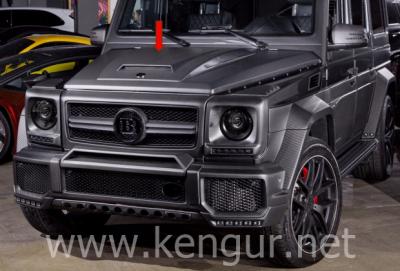 Фото Карбоновый капот с докладкой стиль Brabus Mercedes-Benz G-Class W463