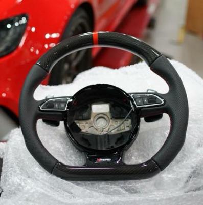 Фото Руль карбоновый на Audi A8 D4