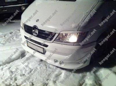 Фото реснички (накладки на фары) Mercedes Sprinter