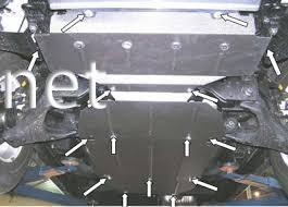 Фото Защита двигателя Kia Sorento  2006-…