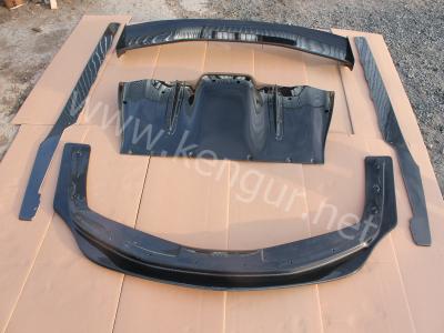 Фото Карбоновый передний диффузор на Ferrari 458 Italia
