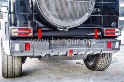 Фото Карбоновый задний бампер Brabus WideStar Mercedes-Benz W463