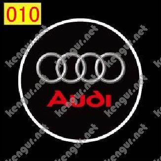 Фото Лазерная подсветка дверей с логотипом Audi (№010)