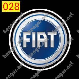 Фото Лазерная подсветка дверей с логотипом Fiat (№028)